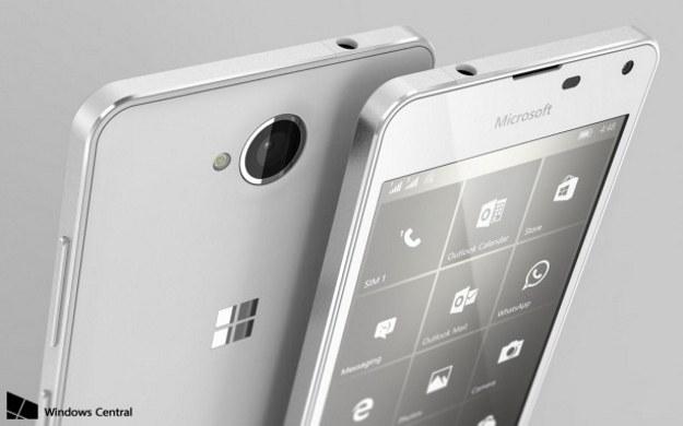 Tak może wyglądać Lumia 650. Fot. Windows Central /materiały prasowe
