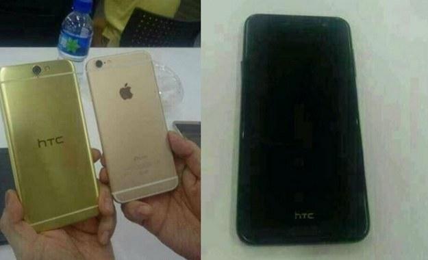 Tak może wyglądać nowy smartfon HTC. Fot. Weibo /materiały prasowe