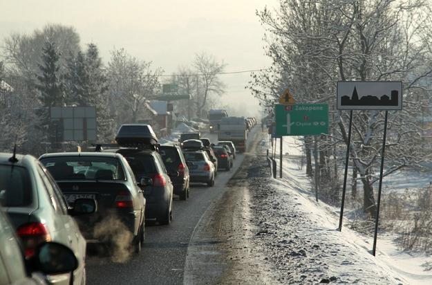 Tak obecnie wjeżdża się do Zakopanego / Fot: Jacek Waszkiewicz /Reporter