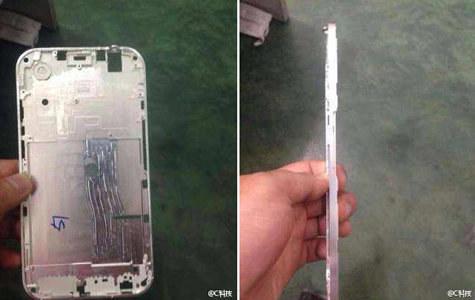 Tak prawdopodobnie wygląda obudowa kolejnego (większego?) iPhone'a Fot. gsmarena.com /Komórkomania.pl