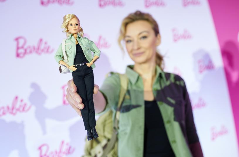 Tak prezentuje się jako Barbie Martyna Wojciechowska /Bartosz Krupa /East News