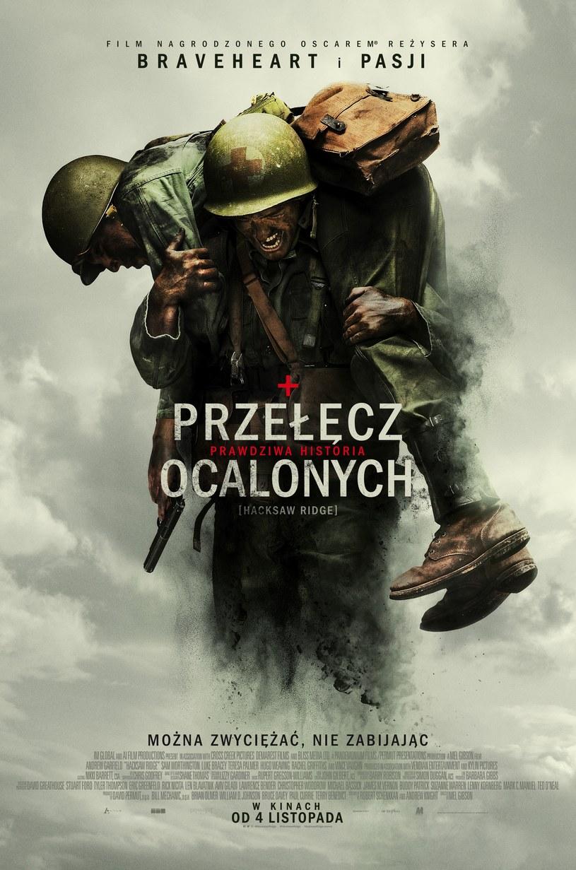 """Tak prezentuje się polski plakat """"Przełęczy ocalonych"""" /materiały dystrybutora"""