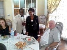 Tak się bawi Lech Wałęsa! Tym razem były prezydent odwiedził Togo