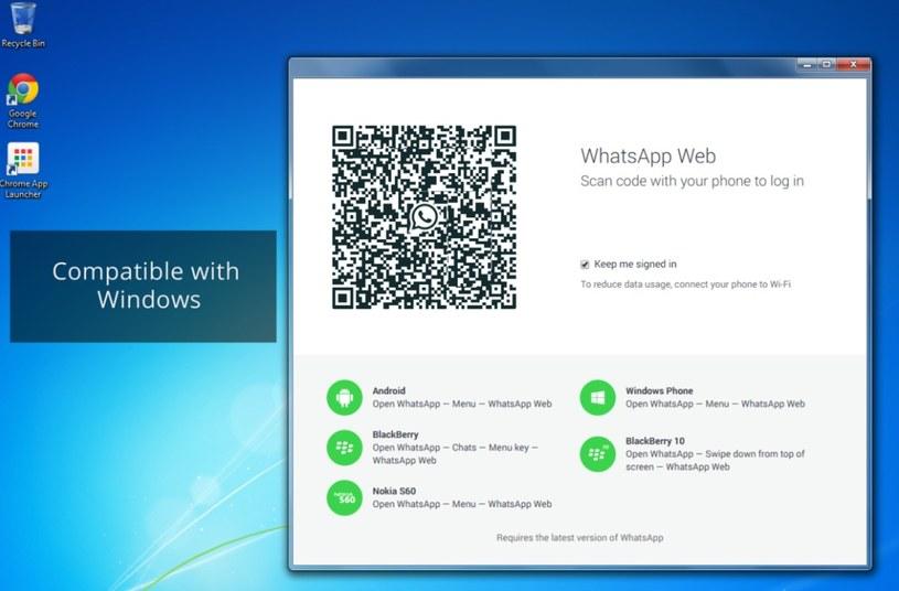 Tak wygląda fałszywa aplikacja WhatsApp /INTERIA.PL
