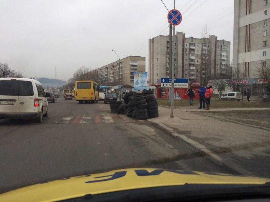 Tak wygląda główna ulica Lwowa /Krzysztof Kot /RMF FM