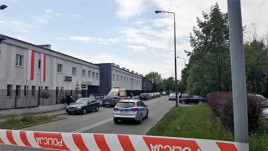 Tak wygląda miejsce, gdzie doszło do strzelaniny /Ewelina Machacka /RMF FM