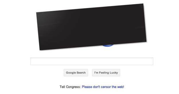 Tak wygląda strona główna amerykańskiej wersji Google.com /materiały prasowe