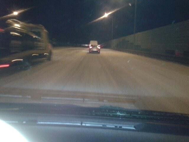 Tak wygląda teraz autostrada A2 w stronę Poznania /Gorąca Linia /RMF FM