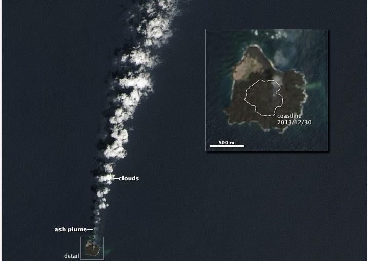 Tak wygląda wyspa /NASA