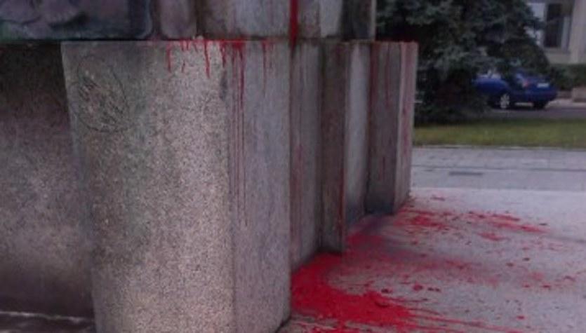 Tak wygląda zdewastowany pomnik