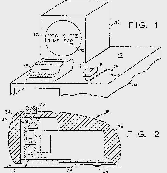 Tak wyglądał patent złożony w 1967 roku - genialny w swojej prostocie                Fot. SRI International /materiały prasowe