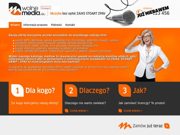 Tak wyglądała strona oszustów /Gadżetomania.pl
