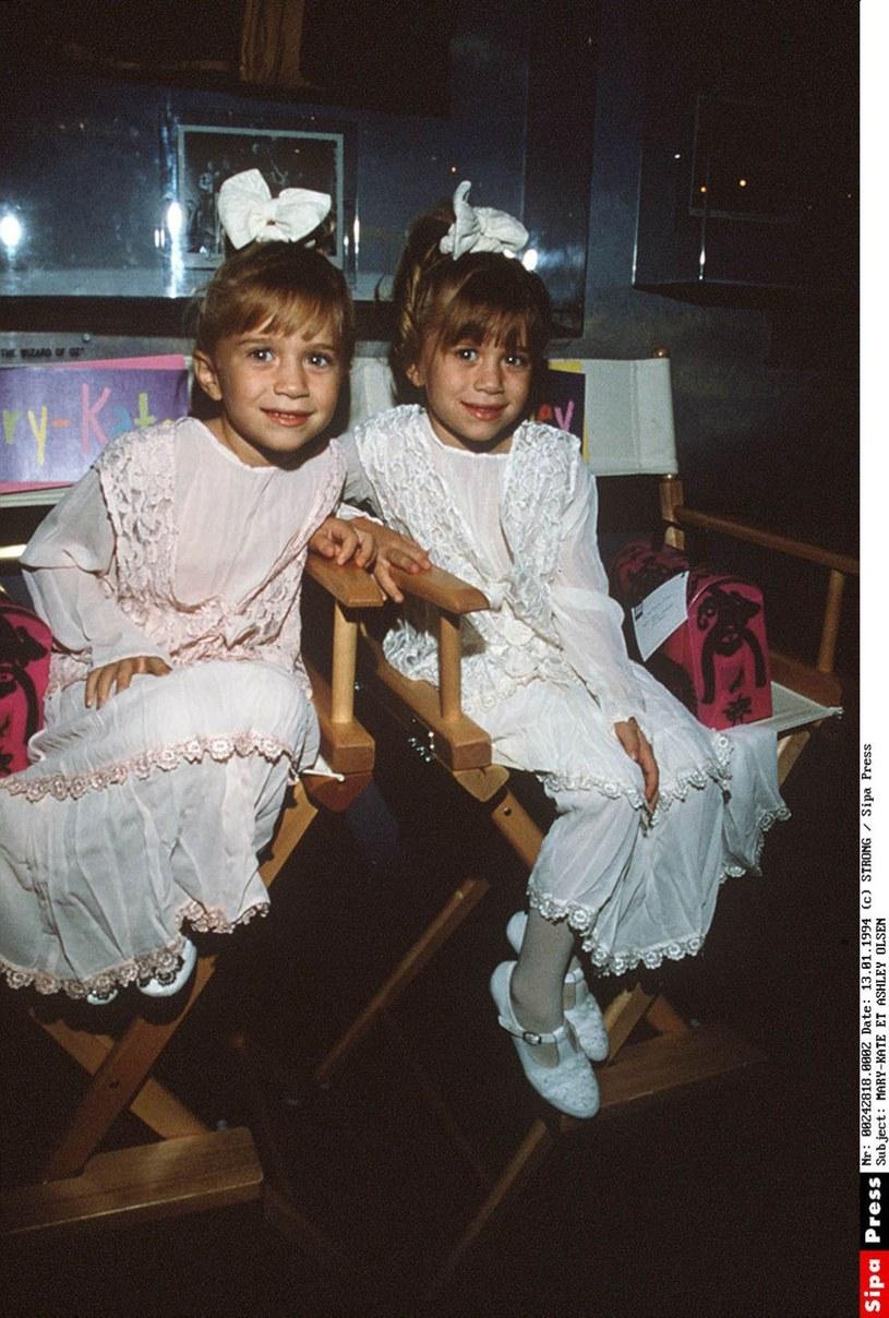Tak wyglądały kiedyś Mary-Kate i Ashley Olsen /SIPA /East News