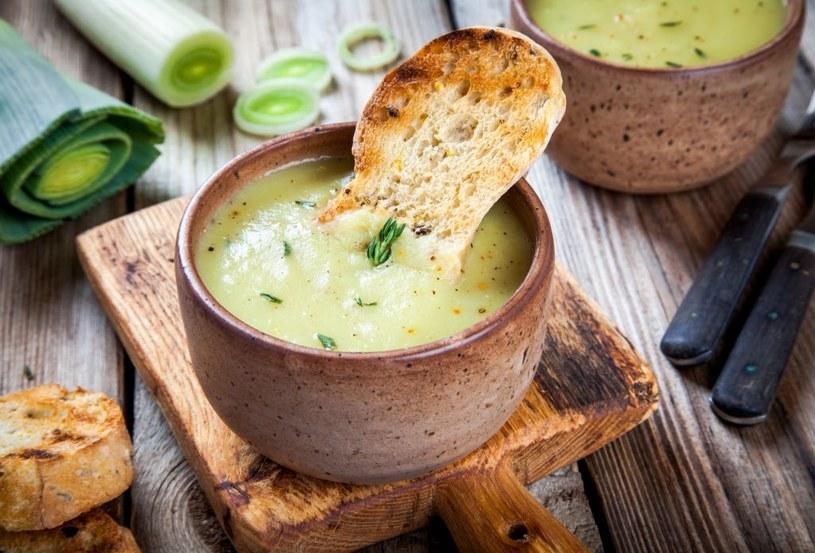 Taka zupa-krem smakuje doskonale /materiały prasowe