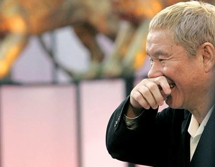 Takeshi Kitano to jeden z najbardziej znanych  japońskich reżyserów /AFP