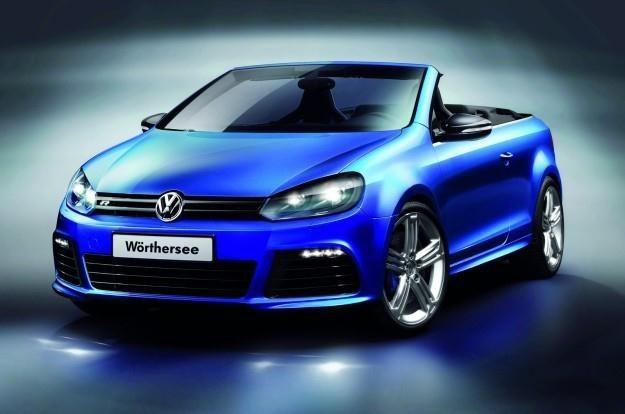 Taki będzie Golf Cabrio R? /INTERIA.PL