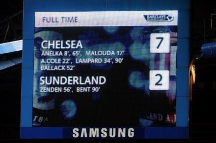 Taki był wynik meczu na Stamford Bridge/fot. Mike Hewitt /Getty Images/Flash Press Media