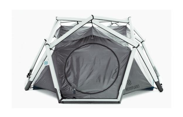 Taki namiot to wybawienie dla wielu osób /materiały prasowe