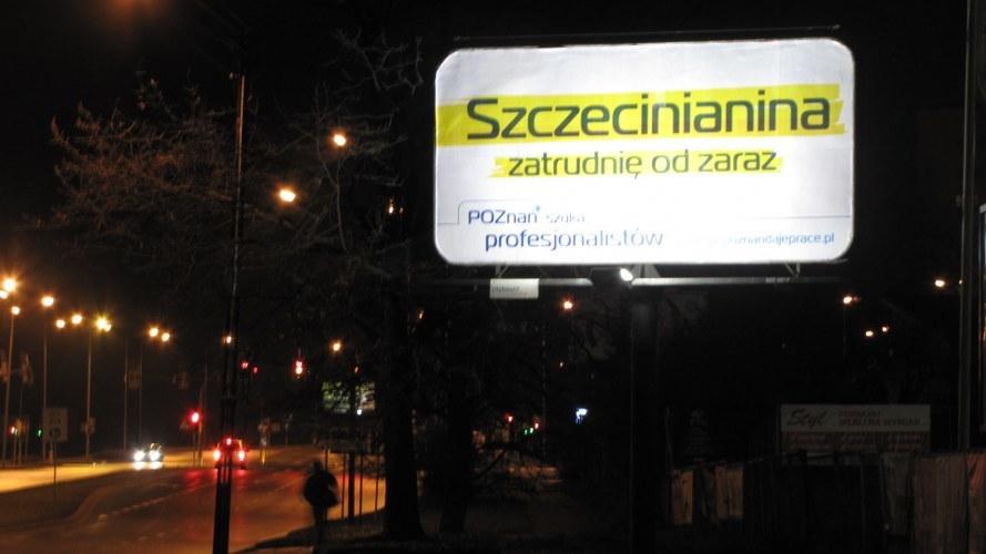 Takie billboardy pojawiły się na ulicach Szczecina /Michał Fit /RMF FM