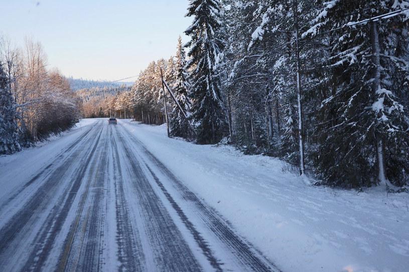Takie drogi zachęcają raczej do spokojnej jazdy /INTERIA.PL