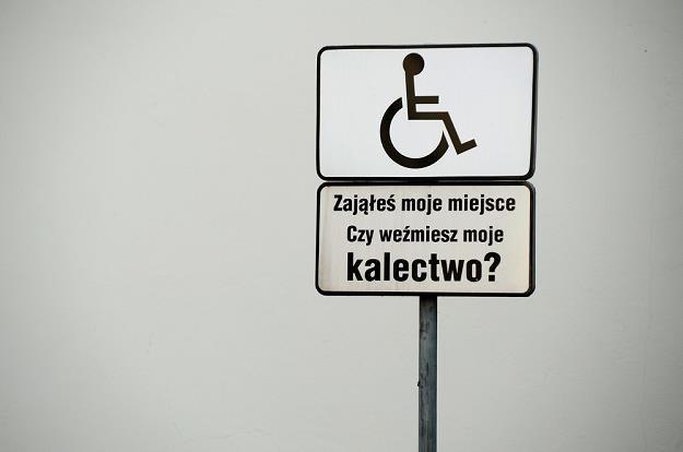Takie tabliczki nie pomagają... / Fot: Wojciech Stróżyk /Reporter