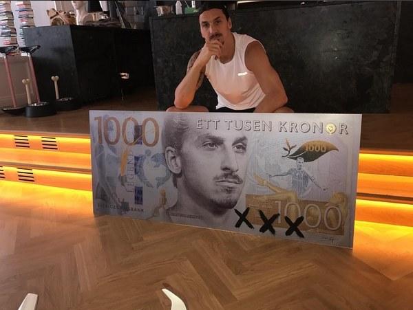 Takie zdjęcie zamieścił Ibrahimović na jednym z portali społecznościowych /Internet