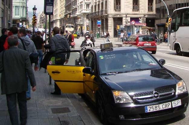Taksówka w Barcelonie /INTERIA.PL