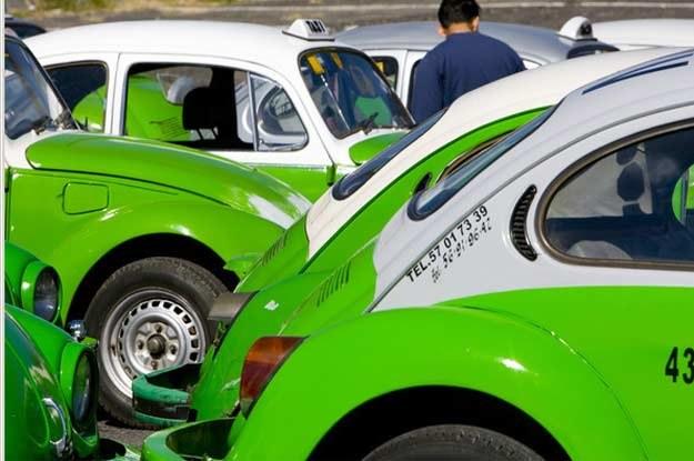 Taksówki w Meksyku /