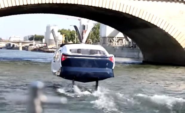 Taksówki-wodoloty będą kursować w Paryżu wolniej niż zapowiadano