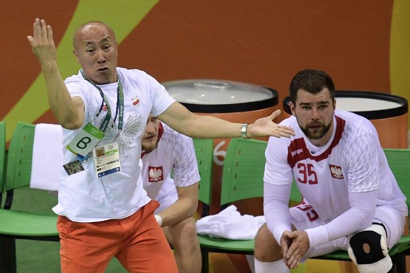 Tałant Dujszebajew i Mateusz Kus /East News