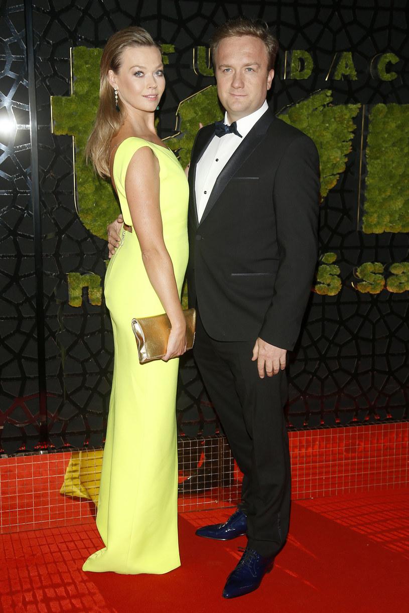 Tamara Arciuch z mężem Bartłomiejem Kasprzykowskim /AKPA