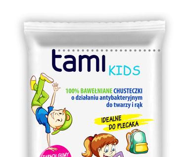 Tami Kids: Bawełniane i antybakteryjne