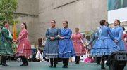 Tańce i śpiewy na bielskich plantach