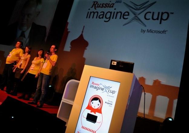 TapBoarders podczas finałowej prezentacji w Warszawie /INTERIA.PL