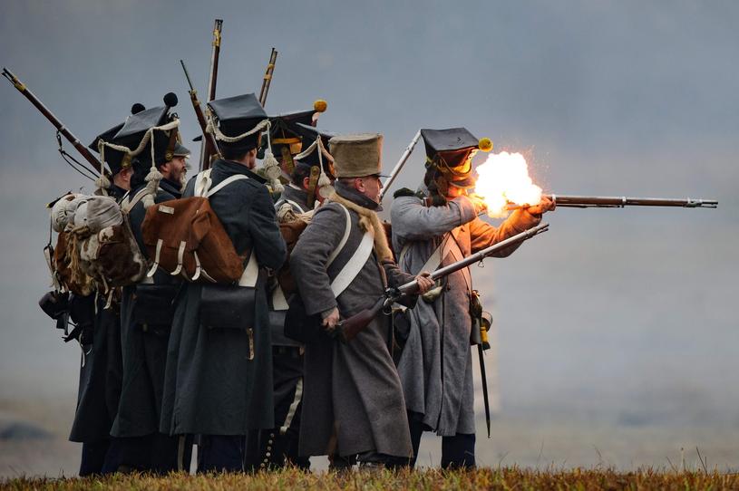 Taran Matharu uważa, że XVIII wiek i wojny napoleońskie to najciekawszy okres w historii wojskowości /East News