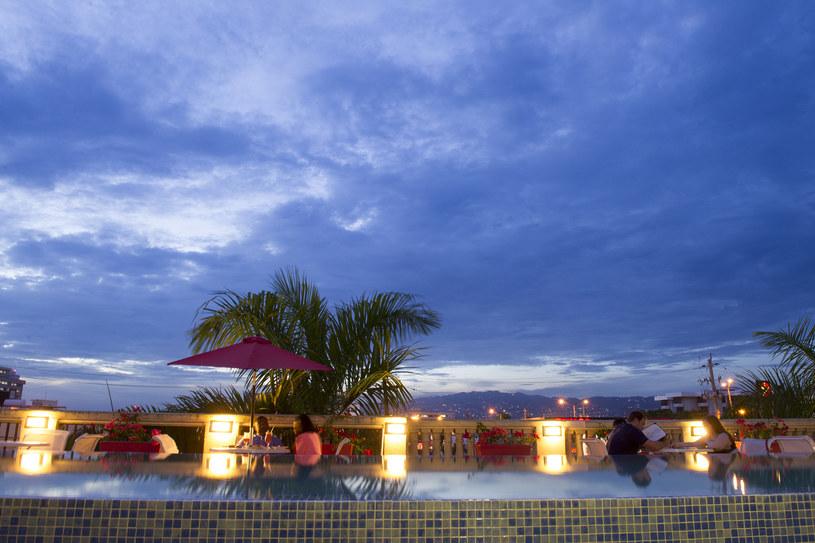 Taras w Spanish Court Hotel /fot. Diana Zalucky /The New York Times Syndicate