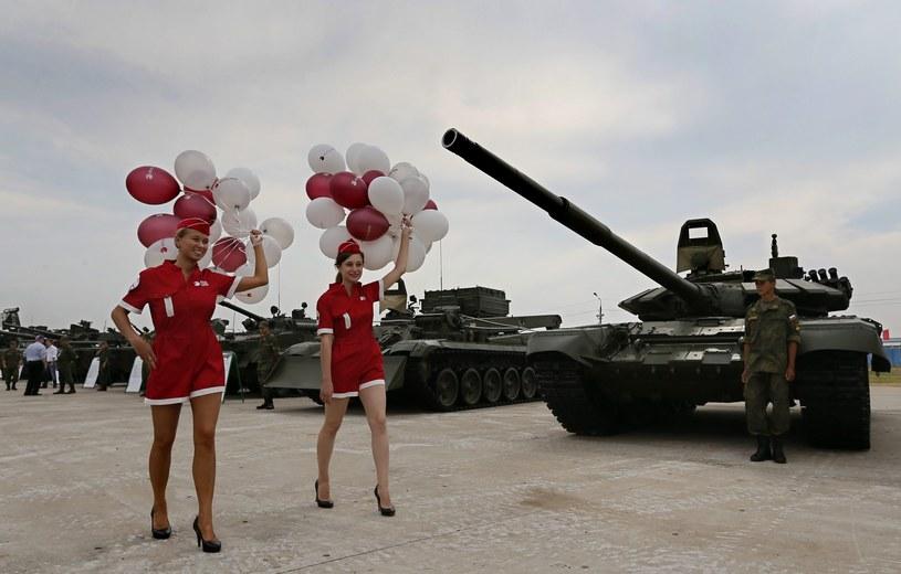 Targi miliratiów niedaleko Moskwy /YURI KOCHETKOV /PAP/EPA