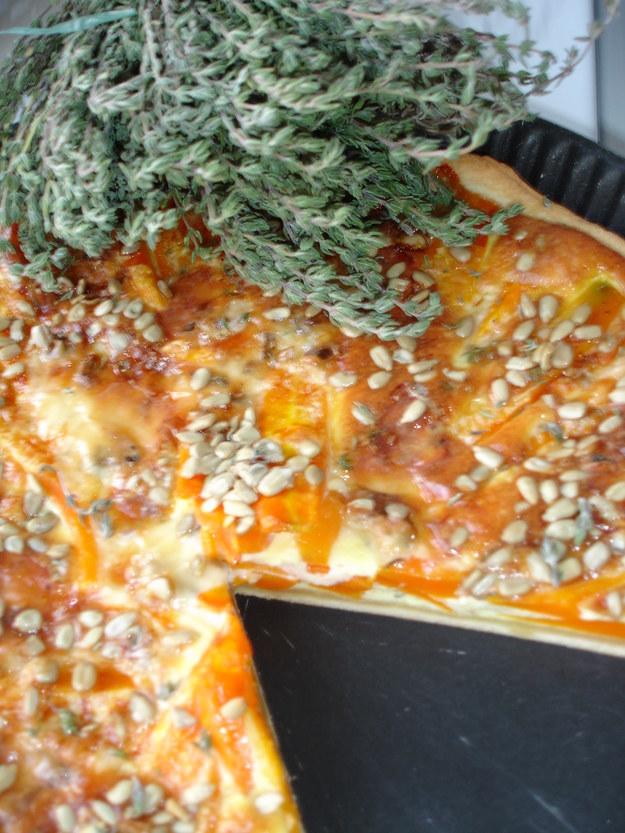 Tarta z marchewka i z gorgonzola