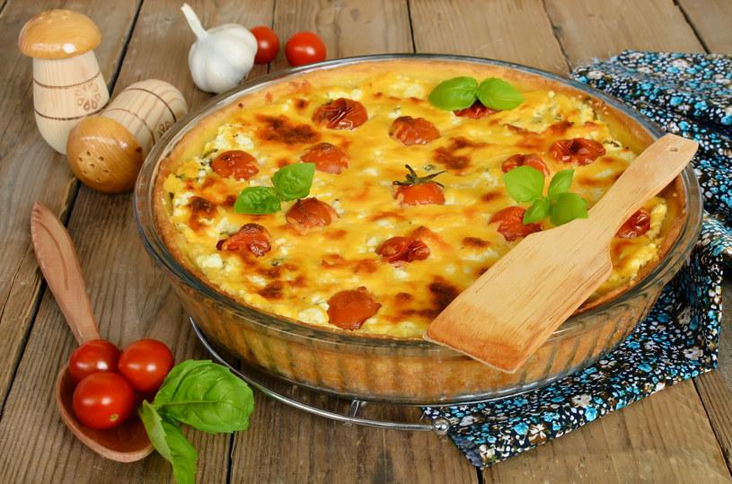Tarta z pomidorkami /123RF/PICSEL
