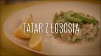 Tatar z łososia z kaparami