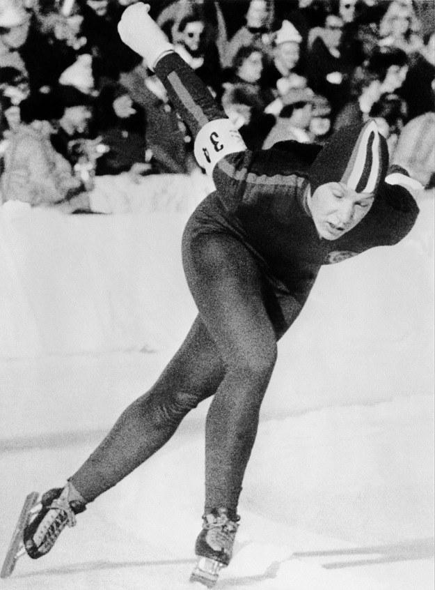 Tatiana Awerina zdobyła na igrzyskach w 1976 roku cztery medale. /AFP