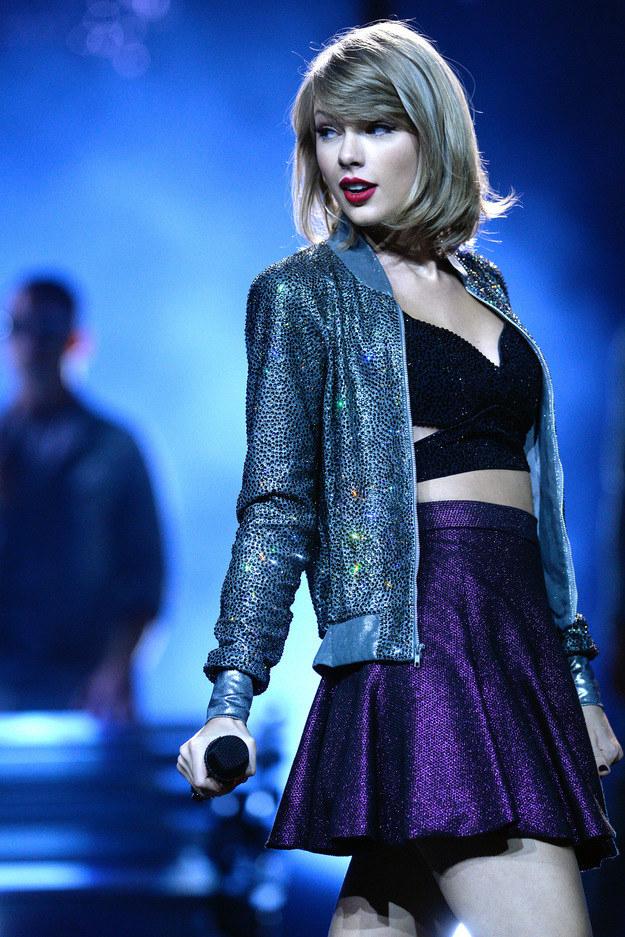 Taylor będzie zła? /- /Getty Images