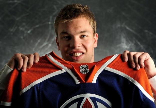 Taylor Hall - jedynka w tegorocznym drafcie NHL /AFP