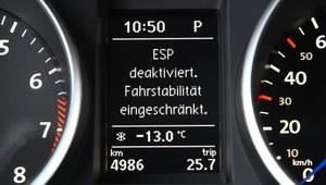 Technika jazdy - wyłączenie systemu kontroli trakcji i ESP