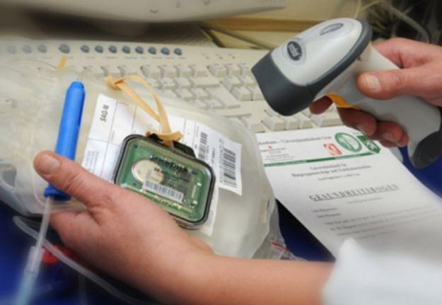 Technologie RFID w służbie krwiodawstwa /materiały prasowe