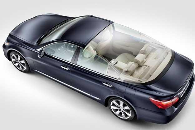 Tego auta książę (jeszcze) nie sprzedaje. To  Lexus LS 600h L Landaulet /