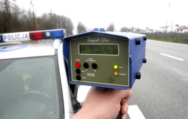 Tego typu radary nie dają żadnej możliwości identyfikacji pojazdu / Fot: Artur Barbarowski /East News