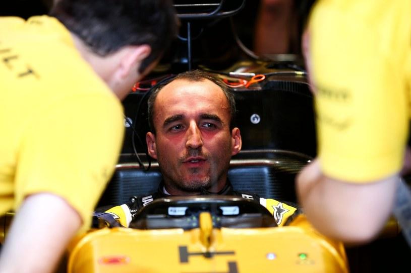 Tegoroczny bolid zupełnie nie przypominał podczas jazdy samochodów, w którymi do tej pory jeździł Kubica /XPB Images/Press Association Images/EAST NEWS  /