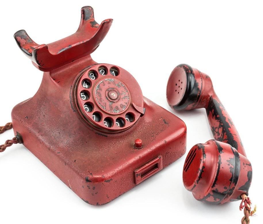 Telefon Adolfa Hitlera /PAP/EPA/ALEDXANDER HISTORICAL AUCTIONS / HANDOUT /PAP/EPA