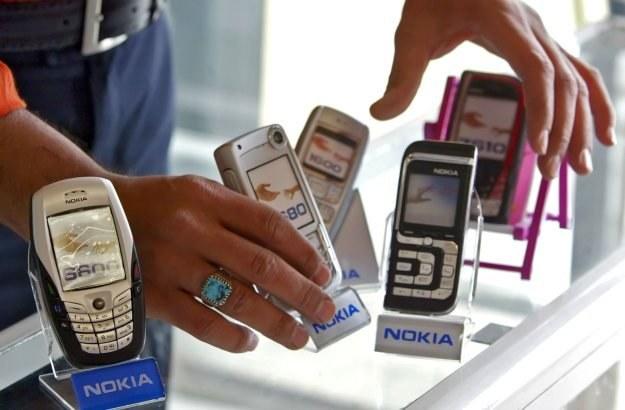 Telefony Nokia to ulubione komórki Polaków /AFP